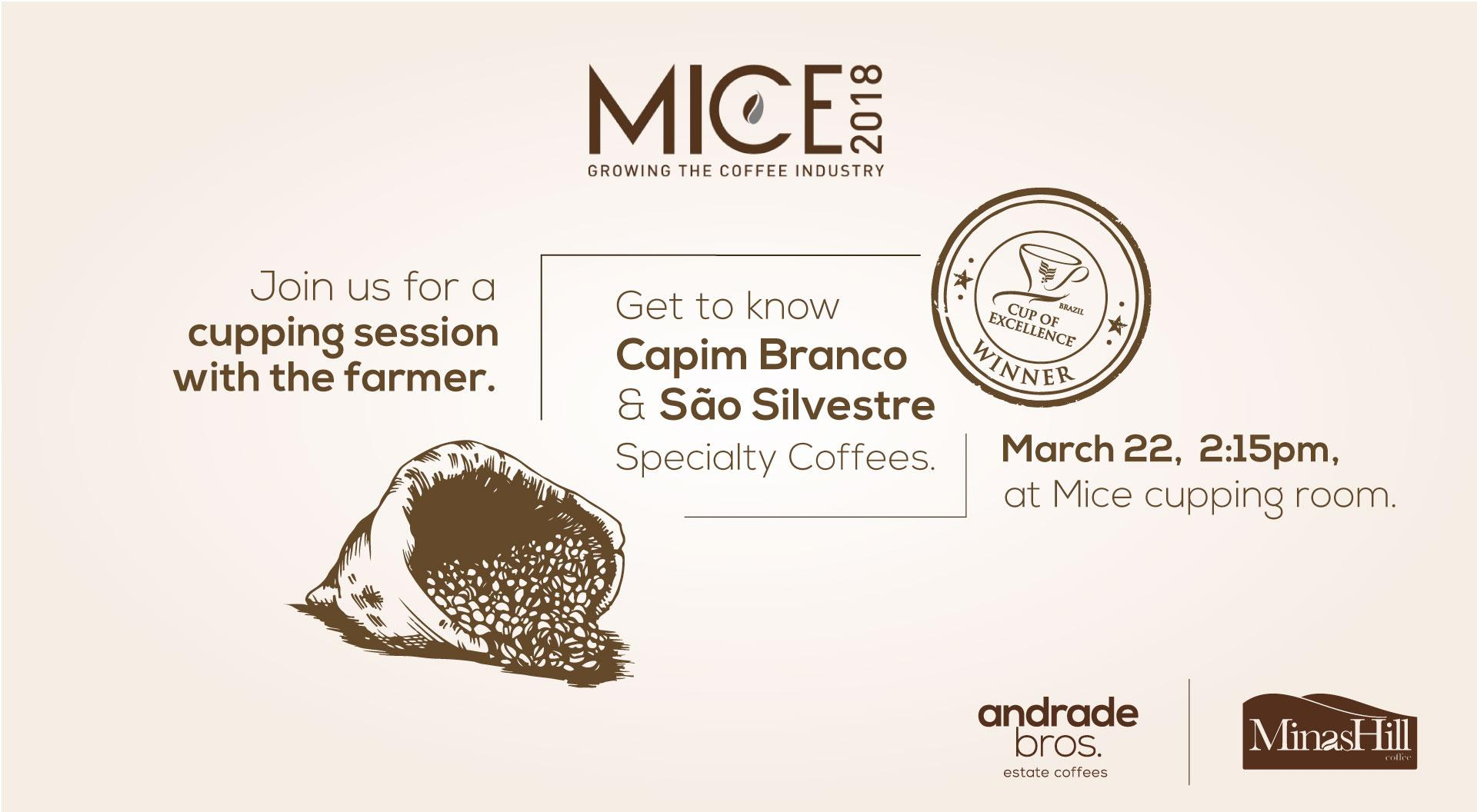MICE 2018, see you there.